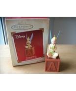 2005 Disney Hallmark Tinker Bell Laughing  Ornament  - $30.00