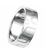 Stainless steel ring - Engraved design 8MM Size 9.5 - $22.86