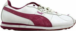 Puma Turin Leather White/Festival Fuchsia 342381 07 Women's Size 9 - $55.00