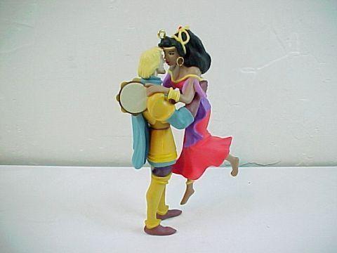 Hallmark Disney's Hunchback of Notre Dame Phoebus/Esmeralda Ornament