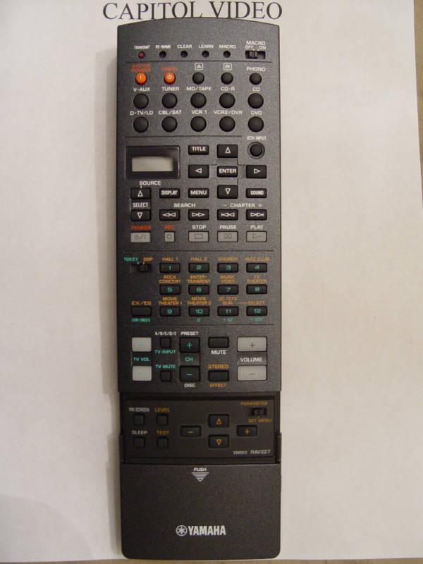 Yamaha rav227 remote control part v9408100 remote controls for Yamaha remote control app
