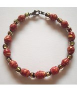 Bracelets Beaded Large Size New Handcrafted Several Colors - $4.95