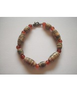 Bracelets Beaded Medium Size Two Colors Handcrafted New - $4.95