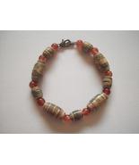 Bracelets Beaded Medium Size Two Colors Handcra... - $4.95