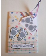 Gift Card Holder With Envelope Handmade New Baby  - $2.00