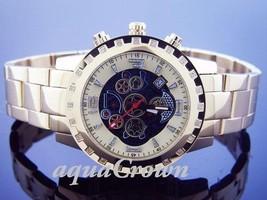 Unisex Aqua Master 38MM Round 24 Diamonds Watch Yellow Gold - $191.99