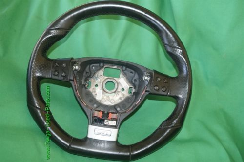 06-09 Volkswagen Rabbit GTi 3 Spoke Leather Steering Wheel w/ DSG Shift Paddles