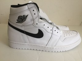 Men's Nike Air Jordan 1 Retro High Ying Yang White Black 555088 102 size... - $92.22