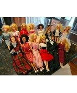 Vintage MATTEL 1966 Barbie Lot of 14 All Dressed Taiwan Phillipines Peps... - $271.32