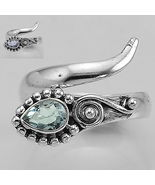 Sale, Adjustable Alexandrite Ring, Size 9 to 10, 925 Silver - $28.00