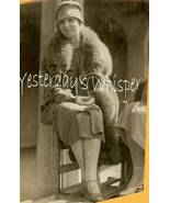 DeMille MISTRESS Julia FAYE Fur 1926 ORG Candid PHOTO - $19.99
