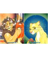 The Lion King Original & Print Fan Art 4pc - Simba w Pumpkin & Nala +Fre... - $18.99