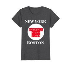 New York Boston Baseball Fight Clubs Tee T-Shirt - $19.99+