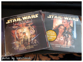 Used Star Wars Episode I and II CD OSTs - $10.00