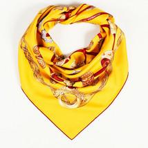 "Hermes Silk ""Alliances Du Monde"" 90cm Scarf - $335.00"