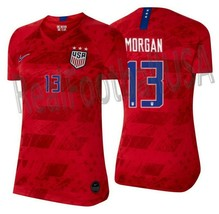NIKE ALEX MORGAN USWNT USA WOMEN'S AWAY JERSEY FIFA WORLD CUP 2019. - $150.00