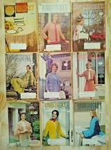 The Workbasket Magazine - 1971,1972 Lot of 9 Total - Vintage! NICE FAST FREE SHP - $9.99