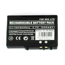 Nintendo DS Lite Compatible 1800mAh Rechargable Battery Pack [video game] - $35.96
