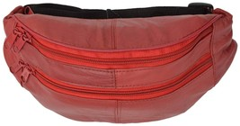 Slim Design Leather Fanny Packs Many Colors 7310 (C) - $11.99
