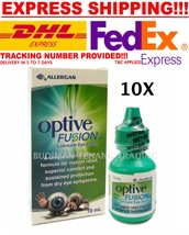 10 boxes Optive Fusion Lubricant eye drops 10ml  - $142.90