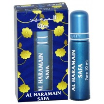 Haramain Safa Perfume Oil/Atar Floral Spice Patchouli Wood Musk 10ml Roll-On - $3.93