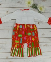Christmas Tree Applique Outfit image 2