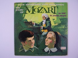 The Story Of Mozart As Told To Young People Vinyl LP Record Album - $9.00