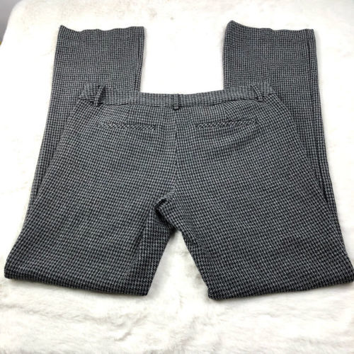Express Women's Gray Houndstooth 'Editor' Dress Pants Work Career Size 6R