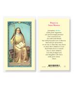 St. Monica Laminated Prayer Holy Card 25-Pack - $24.99