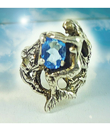 HAUNTED ANTIQUE RING OCEANS OF EXTREME BEAUTY MAGICK HIGHEST ORDER OF W... - $303.77