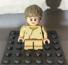 Lego Star Wars Minifigure Young Kid Boy Anakin Skywalker - $3.96