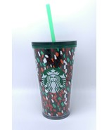 STARBUCKS Confetti Cup Cold Cup Acrylic Tumbler HOLIDAY 2019 16 oz Chris... - $25.19