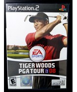 Tiger Woods PGA Tour 08 (Sony PlayStation 2, 2007) Complete - $6.19