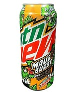 Mountain Dew Maui Burst, 16 ounce cans Dew with a Blast of Pineapple (3 ... - $14.84