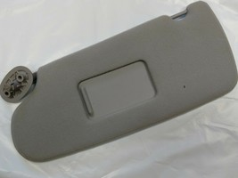 0RF33RC1AA NOS MOPAR OEM LEFT Sunvisor Gray 96-97 GRAND CARAVAN TOWN AND... - $44.00