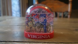 Vintage Virginia Civil War Snow Globe 3.75 inches - $34.64