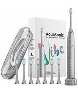 AquaSonic VIBE series Ultra Whitening Electric Toothbrush - 8 DuPont Bru... - $75.29+