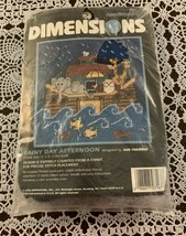 Brand New Dimensions Needlepoint Kit 7167 Rainy Day Afternoon For Dog Ch... - $12.99