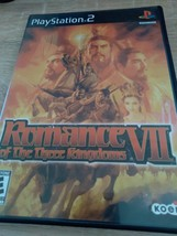 Sony PS2 Romance Of The Three Kingdoms VII image 1