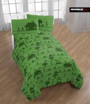 MINECRAFT 3 Piece Microfiber Twin Bedding Sheet Set Pillowcase Kids Teen... - $39.59