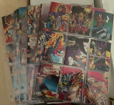 1991 Marvel X-Men Complete Card Set #1 - 90 NM/M Condition Impel - $13.49