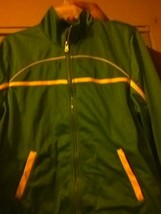 Voice XL track suit GREEN POLYESTER teen - $14.96