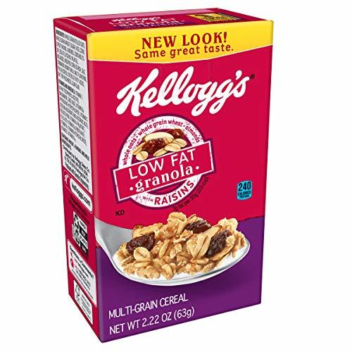 Kellogg's Breakfast Cereal, Low Fat Granola With Raisins