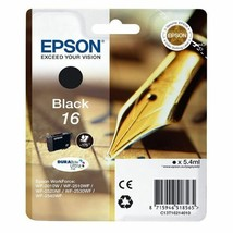 Epson T1621 Black Inkjet Cartridges (Pen & Crosswords) - $25.59