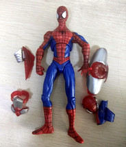 "Xmas gift  6"""" Rare Marvel Legend The amazing Spider-Man Action figure m... - $21.20"