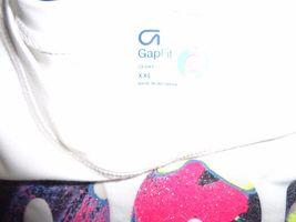 GAP Fit Dry White Multi-color GO! T-Shirt Sz XXL NWOT image 3