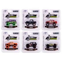 Just Trucks Set of 6 Trucks Series 24 1/64 Diecast Model Cars by Jada 14... - $49.97