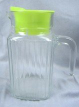 """KIG INDONESIA kig Small Juice Pitcher with Lid ~ 6 1/2"""" Tall - $12.19"""