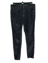 Pilcro And The Letterpress Anthropologie Gray Skinny Corduroy Pants Size... - $17.82