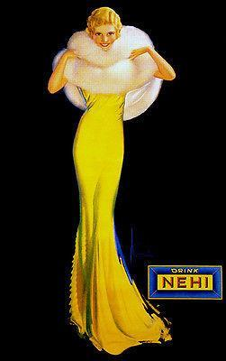 Primary image for Drink NEHI - Pinup - 1929 - Promotional Advertising Poster